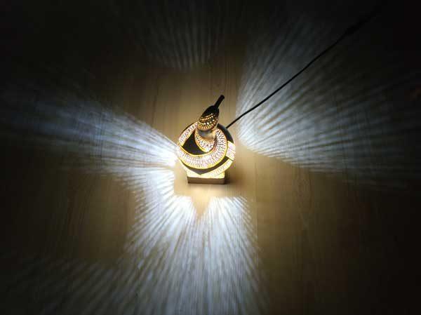 su kabağı özel hediyelik masa lambası