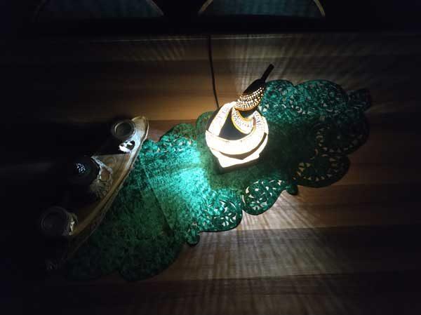 su kabağı özel tasarım hediyelik masa lambası aydınlatma