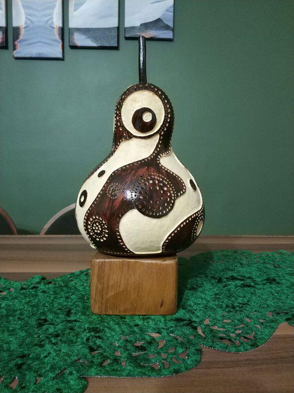 su kabağı mistik modeli lamba