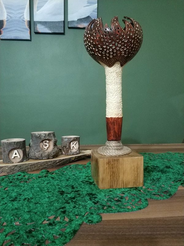 su kabağı tasarım model lamba