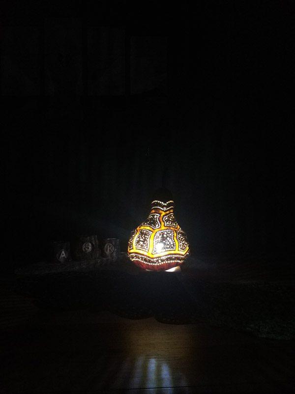 özel tasarım su kabağı lambalar
