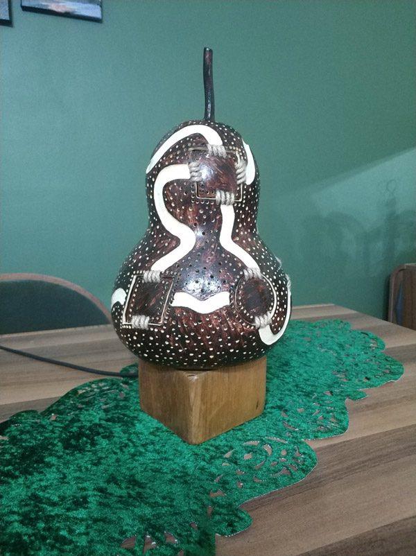 su kabak ışıklı dekoratif led gece lambalar