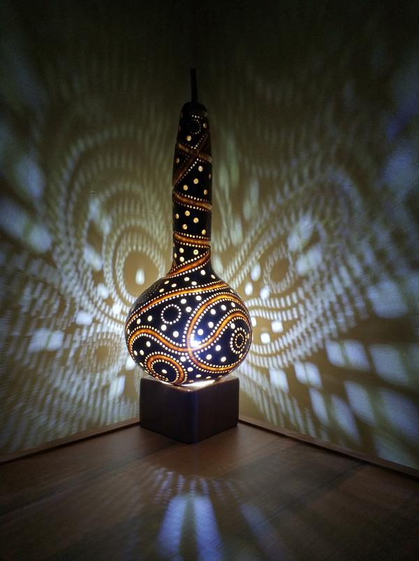 otantik hediye gece masa led lamba